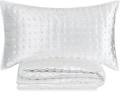 Prato Quilted 3-Piece Quilt & Shams Set - Ivory