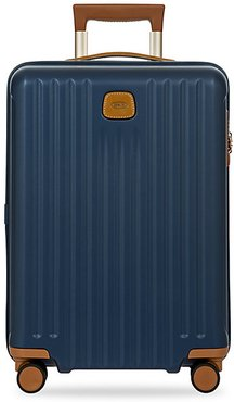 Capri 21-Inch Spinner Expandable Luggage - Matte Blue