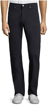 Graduate Slim Straight-Fit Jeans - Navy - Size 38 x 34