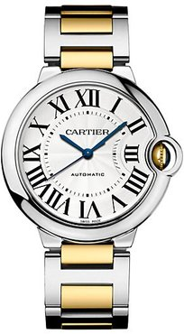 Ballon Bleu de Cartier 18K Yellow Gold & Stainless Steel Bracelet Watch