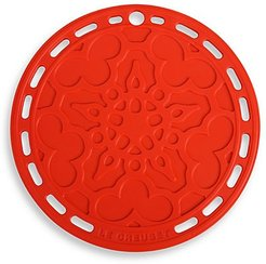 Silicone French Trivet - Cerise