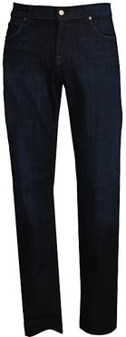 Austyn Relaxed Straight-Fit Jeans - Los Angeles Dark - Size 40
