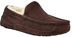 Ascot Suede UGGpure-Lined Slippers - Brown - Size 7