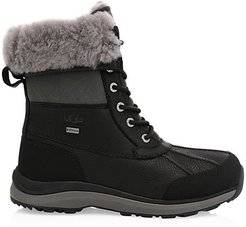 Adirondack III Shearling Quilted Boots - Black - Size 9.5