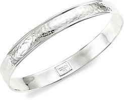 Glamazon Sterling Silver Goddess Bangle Bracelet - Silver