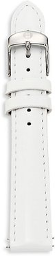 Leather Watch Strap - White