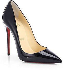 So Kate 120 Patent Leather Pumps - Black - Size 38 (8)