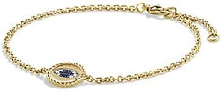 Cable Collectibles® Pavé Evil Eye Charm With Diamonds In 18K Gold - Gold