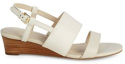 Annalee Grand Banded Wedge Sandals