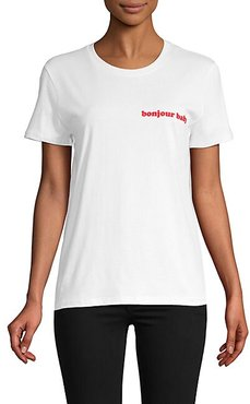 Bonjour Baby Graphic T-Shirt