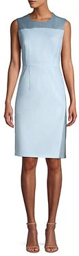 Doreli Virgin Wool Sheath Dress