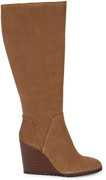 Patience Suede Knee-High Boots