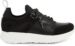 Un-Dad Leather & Suede Jogger Sneakers
