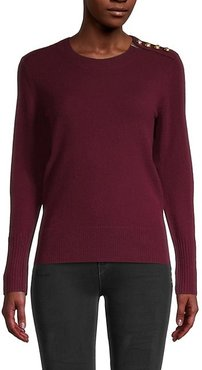 Meesebrook Button Cashmere Sweater