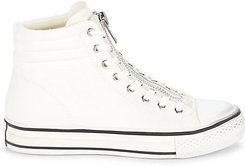 Grant Zippered High-Top Sneakers