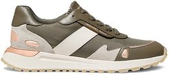 Monroe Trainer Leather Sneakers
