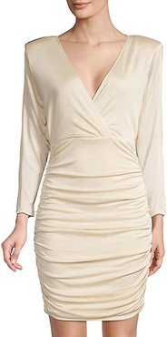 Eve Ruched Cocktail Dress