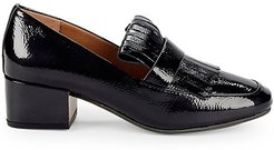 Ethan Patent Kilted Loafers