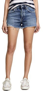 Parker Vintage Loose Fit Cutoff Shorts