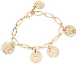 Oval Chain Coin Anklet