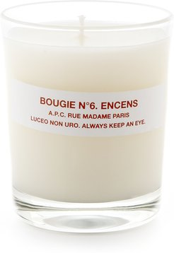 Bougie No. 6 Encens Scented Candle