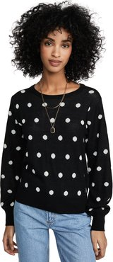 Addie Polka Dot Sweater