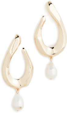 Petra Pearl Drop Earrings