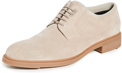 First Class Suede Derby Shoes