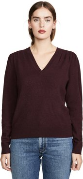 Marcel Cashmere Vee Sweater