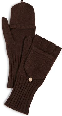 Knit Texting Cashmere Mittens