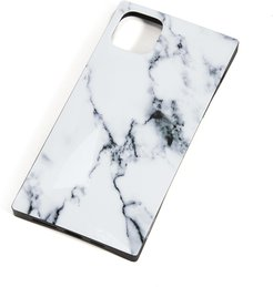 3 Piece White Marble iPhone Accessories
