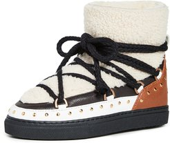 Curly Rock Shearling Sneakers