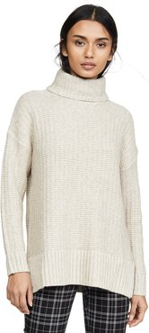 Kate Ribbed Turtleneck Sweater