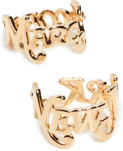 New York x The Logo Stack Rings