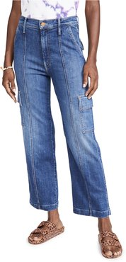 The Rambler Cargo Ankle Jeans