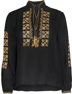 Karina Palestinian Embroidered Top