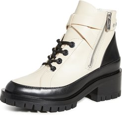 Hayett 50mm Lace Up Boots
