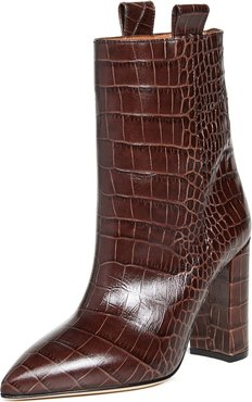 Moc Croco Ankle Boots 100mm