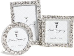 Shopbop @Home Set of 3 Diamonte Picture Frames