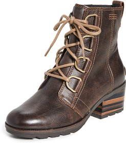 Cate Lace Up Boots