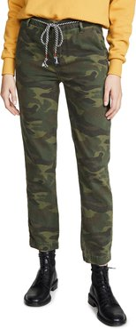 Camo Clean Straight Trousers