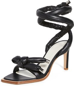 Nils Square Toe Wrapped Sandals