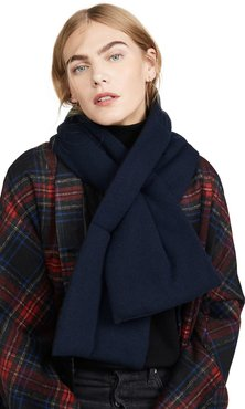 Padded Cashmere Scarf