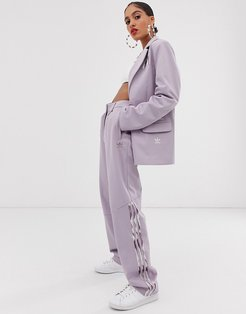 x Danielle Cathari deconstructed pants in soft vision-Purple