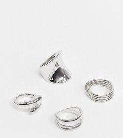 Rhorewen ring multipack in silver
