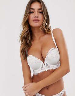 Camelia strapless bra in white