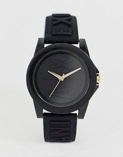 AX4369 Lady Banks silicone watch-Black