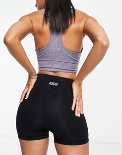 4505 icon booty short in cotton touch-Black