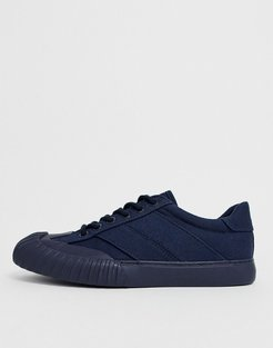 Danni mudguard sneakers in navy
