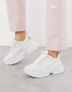 Darling chunky sneakers in white mix